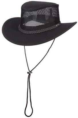 Dorfman Pacific Men Mesh Safari Hat