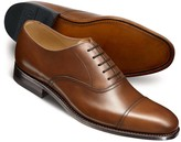 Charles Tyrwhitt Brown Carlton toe cap Oxford shoes