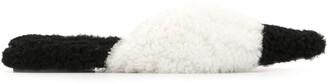 Marni Sheepskin Monochrome Mules