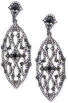 Lauren Ralph Lauren Hematite-Tone Pavé Clip-on Chandelier Earrings