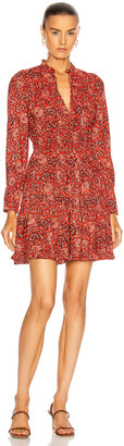 Ulla Johnson Liv Dress in Poppy Floral | FWRD