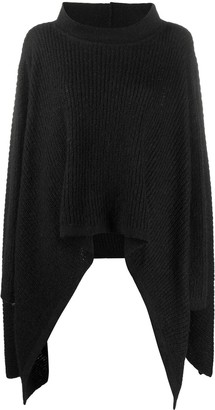 Jean Paul Gaultier Pre Owned 1990s Knitted Poncho Jumper