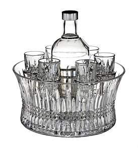 Waterford Crystal Lismore Diamond Vodka Set Of 6 Shot Glasses