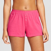 Women's Knit Pajama Short Pink - Xhilaration