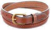 Michael Bastian Skinny Leather Belt