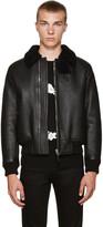 Givenchy Black Shearling Jacket