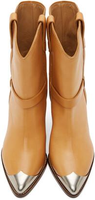 Isabel Marant Tan Limza Ankle Boots