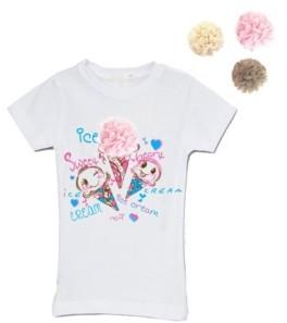 Mi Amore Gigi Little and Big Girls Interchangeable 3D Ice Cream Top
