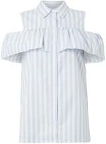 MICHAEL Michael Kors Sleeveless button up top