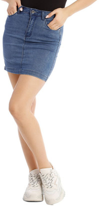 Missguided Superstretch Denim Mini Skirt