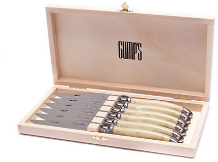 Gump's Mother of Pearl Steak Knives