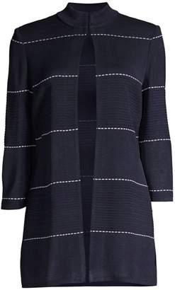 Misook Dash Detail Ottoman Jacket