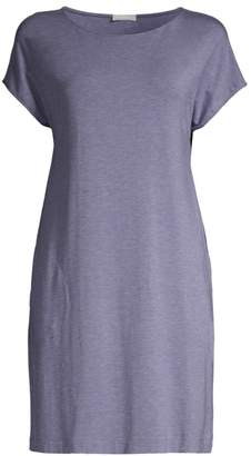 Hanro Natural Elegance Short-Sleeve Nightgown