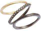 Armenta Old World Diamond Stacking Rings (Set of 3)