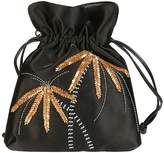 Les Petits Joueurs Metal Palm Tree Bucket Bag
