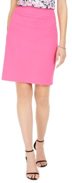 Nine West Crepe Pencil Skirt