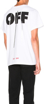 Off-White Silver Off Tee