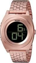 Nixon Men's 'Time Teller Digi' Quartz Stainless Steel Watch, Color:Gold-Toned (Model: A948-897-00)