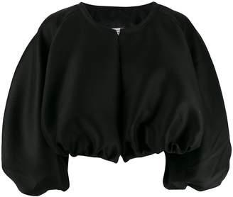 Totême balloon sleeve cropped jacket