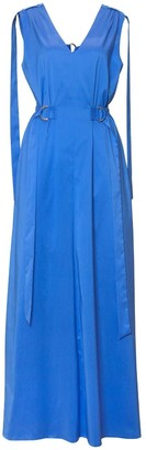 Diana Arno Anne Open-Back Maxi Dress In Royal Blue