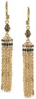Carolee Bar Link Chain Drop Earrings