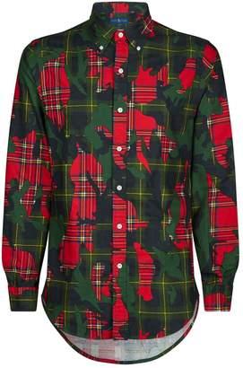 Polo Ralph Lauren Slim-Fit Oxford Contrast Shirt