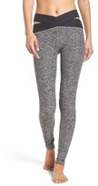 Beyond Yoga Women's East Bound Cross Waist Leggings