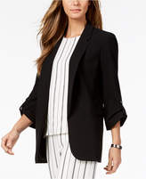 Nine West Roll-Tab Flyaway Blazer, Created for Macy's