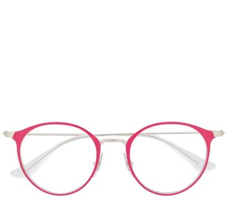 Ray Ban Junior Round-Frame Glasses