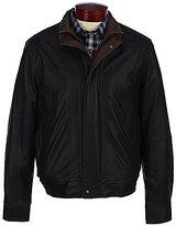 Daniel Cremieux Signature Sussex Double-Collar Leather Jacket