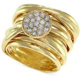 Effy D'Oro by Diamond Pave-Set Wrap Ring (1/3 ct. t.w.) in 14k Gold
