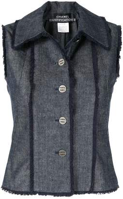 Chanel Pre-Owned sleeveless vest jacket