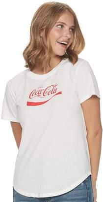 Unbranded Juniors' Coca-Cola Logo Graphic Tee