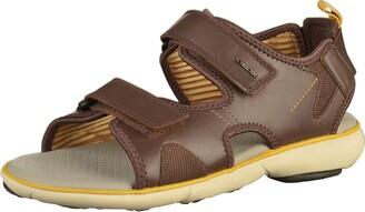 Geox Men's Nebula Leather Sandal Sport