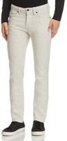 Naked & Famous Denim Superskinny Guy Speckled Super Slim Fit Jeans in White