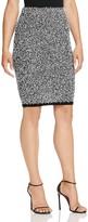 Calvin Klein Eyelash Tweed Pencil Skirt