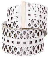 Tory Burch Laser Cut Waist Belt