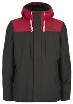 The North Face Men's Himalayan 3 in 1 Jacket Black Ink Red