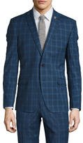 Nick Graham Bold Checkered Notch Lapel Sportcoat