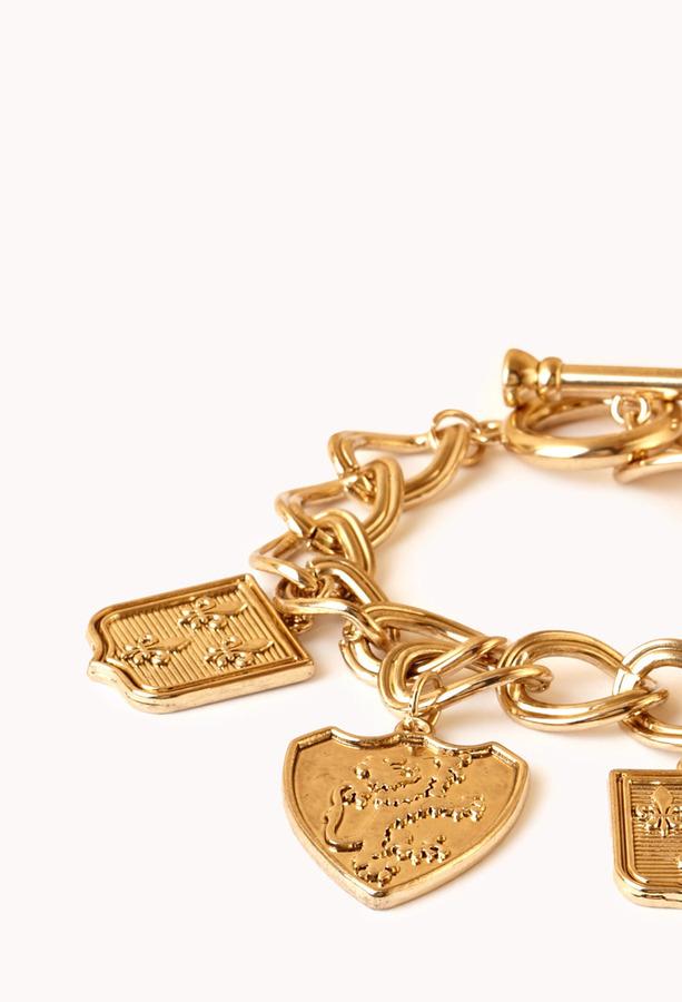 Forever 21 Regal Charm Bracelet