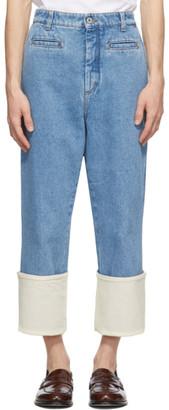 Loewe Blue Fisherman Stonewash Jeans