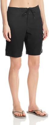 Jag Women's Solid Swim Long Board Shorts