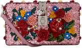 Dolce & Gabbana Embellished Shoulder Box Clutch, White