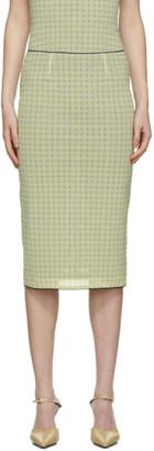 Miaou Yellow Mesh Moni Skirt