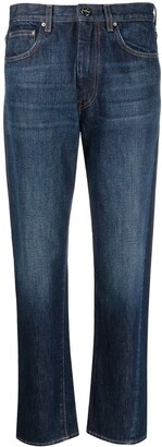 Totême Mid-Rise Cropped Jeans