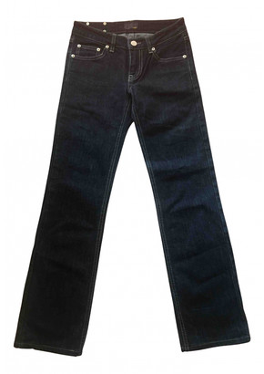 Fendi Blue Cotton - elasthane Jeans