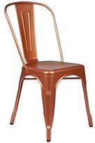 Joseph Allen Copper Tolix Style Metal Cafe Chair