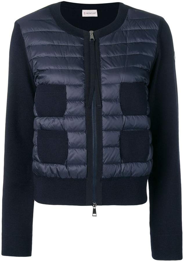 Moncler padded panel jacket