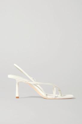STUDIO AMELIA - 2.4 Leather Sandals - White