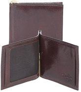 Scully Men's Money Clip w/ID Window Italian Leather 2008